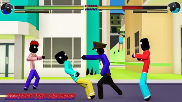 火柴人街头对决破解版游戏截图(4)