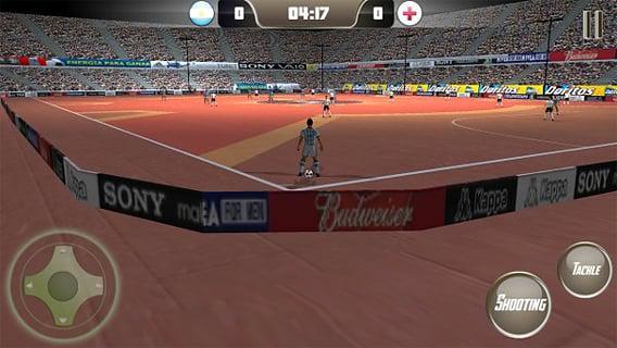 五人制足球2安卓版游戏截图(1)