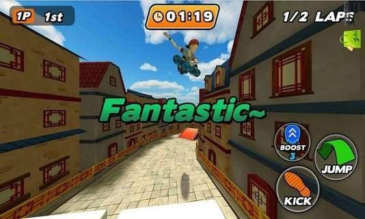 滑板都市安卓版游戏截图(2)
