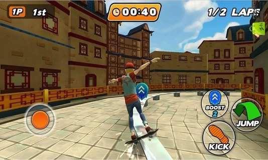 滑板都市安卓版游戏截图(3)