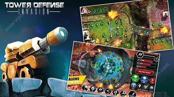 塔防入侵TD安卓版游戏截图(1)
