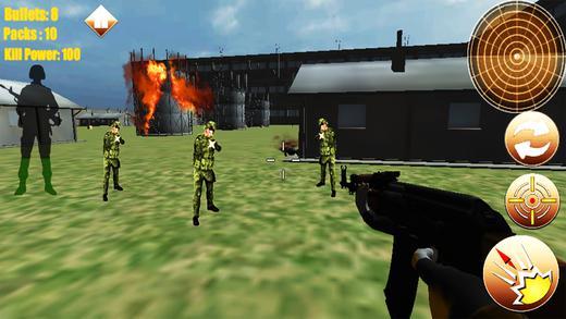 突击队杀枪iOS版游戏截图(2)