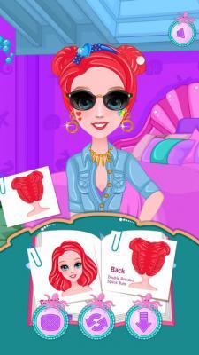 公主短发编发iOS版游戏截图(4)