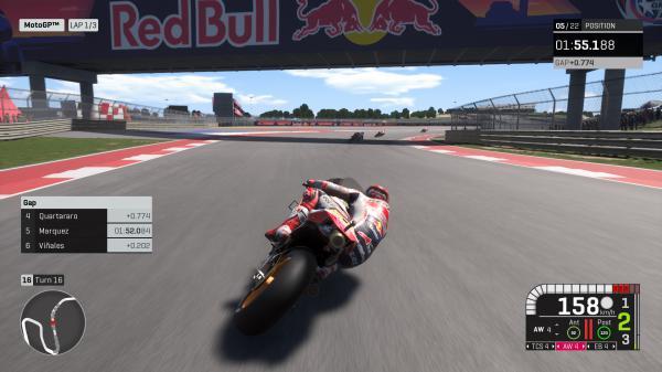 世界摩托大奖赛19游戏截图(3)