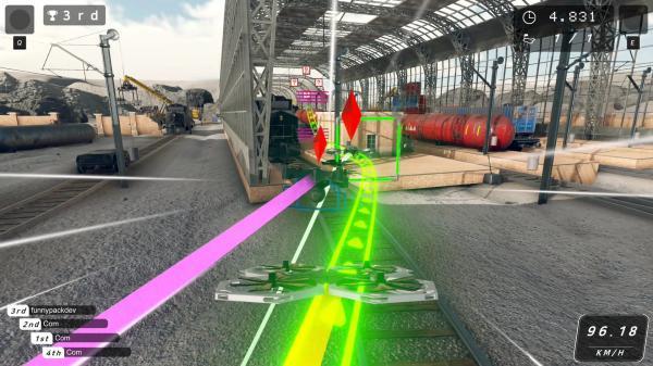 无人机赛车游戏截图(2)