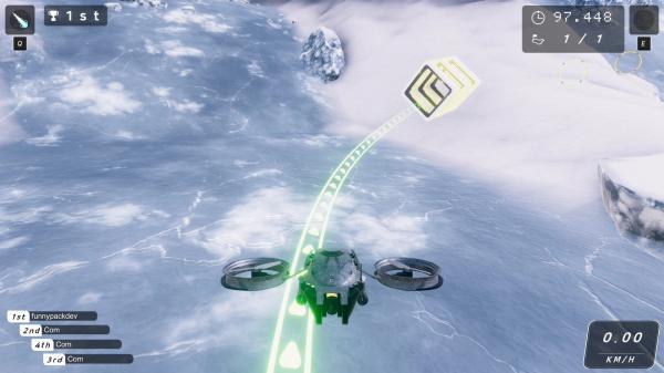 无人机赛车游戏截图(3)