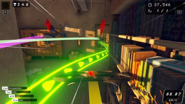 无人机赛车游戏截图(8)