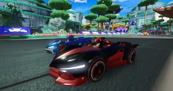 组队索尼克赛车游戏截图(2)