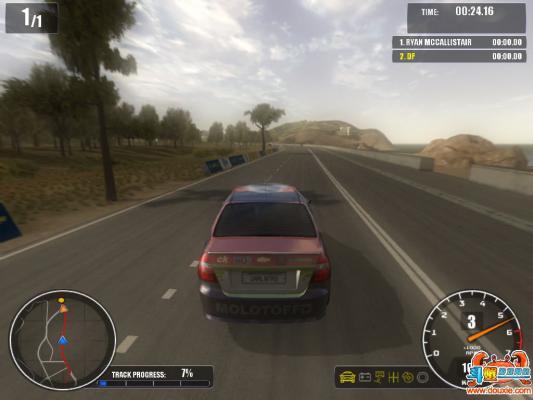 通用汽车拉力赛游戏截图(1)