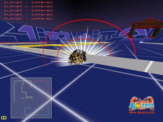 横冲直撞TRON赛车游戏截图(2)
