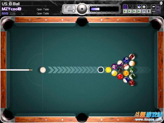撞球游戏游戏截图(1)