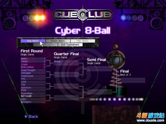 撞球游戏游戏截图(4)
