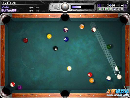 撞球游戏游戏截图(5)