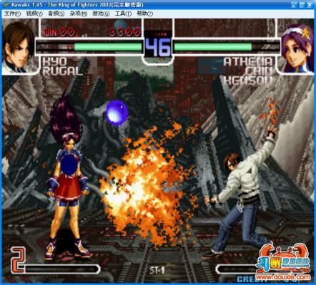 拳皇2002风云再起中文版游戏截图(3)