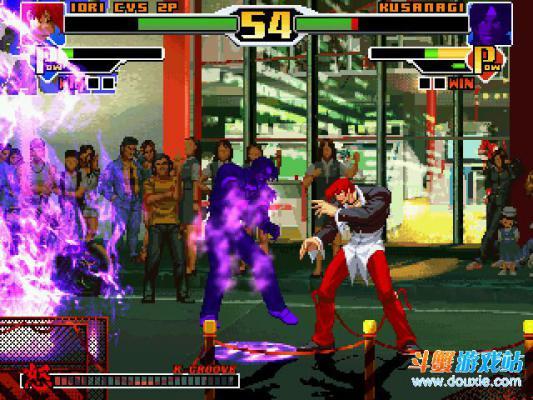 拳皇DIY版可选200人游戏截图(1)