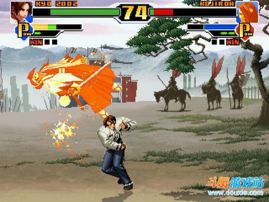 拳皇DIY版可选200人游戏截图(4)