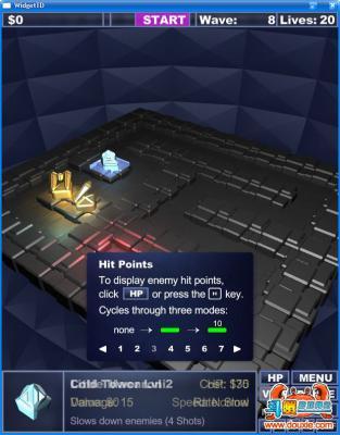 微巨塔防游戏截图(1)