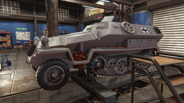 坦克机械师模拟器游戏截图(2)