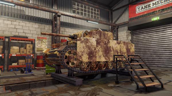 坦克机械师模拟器游戏截图(3)