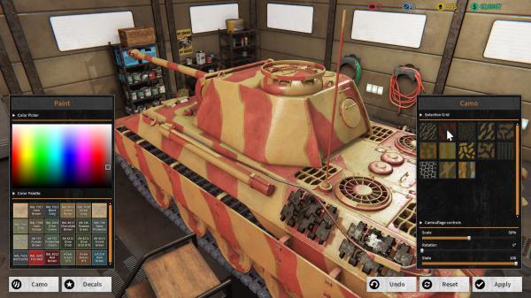 坦克机械师模拟器游戏截图(5)