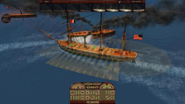 钢铁覆盖:墨西哥湾1864年游戏截图(2)