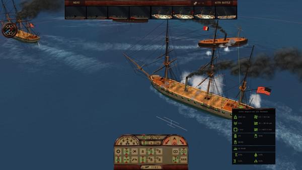 钢铁覆盖:墨西哥湾1864年游戏截图(4)