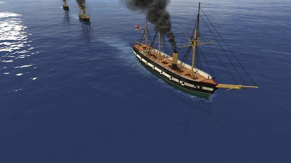 钢铁覆盖:墨西哥湾1864年游戏截图(7)