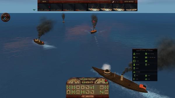 钢铁覆盖:墨西哥湾1864年游戏截图(8)