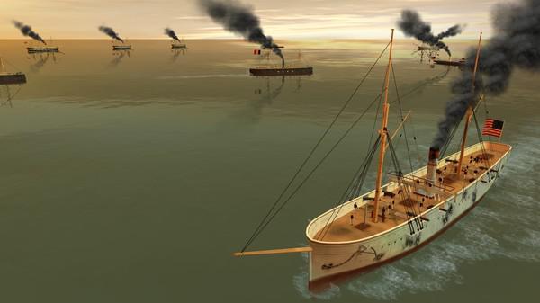 钢铁覆盖:墨西哥湾1864年游戏截图(9)