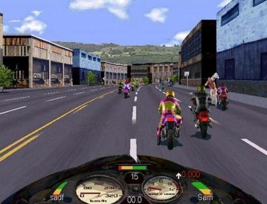 暴力摩托车游戏截图(2)
