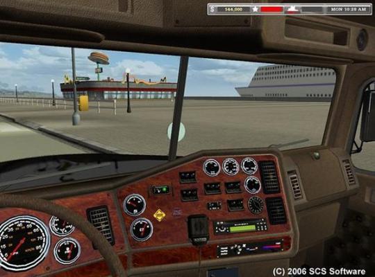 18轮大卡车穿越美国游戏截图(3)