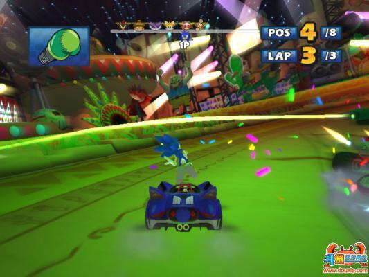 索尼克与世嘉全明星赛车硬盘版游戏截图(2)