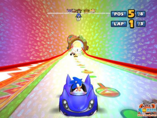 索尼克与世嘉全明星赛车硬盘版游戏截图(3)
