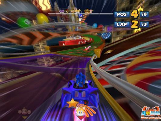 索尼克与世嘉全明星赛车硬盘版游戏截图(4)