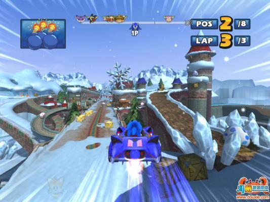索尼克与世嘉全明星赛车硬盘版游戏截图(5)