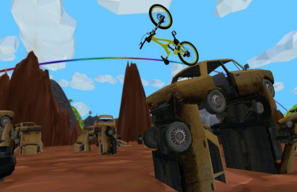 荒野单车游戏截图(4)