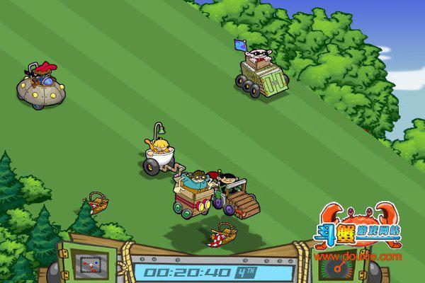 怪车下坡赛 试玩版游戏截图(1)