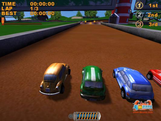疯狂玩具车游戏截图(1)