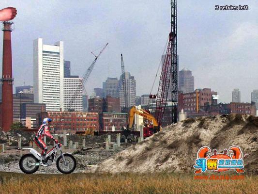 摩托车特技障碍赛游戏截图(1)
