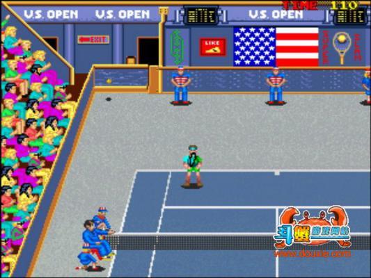 超级网球游戏截图(1)