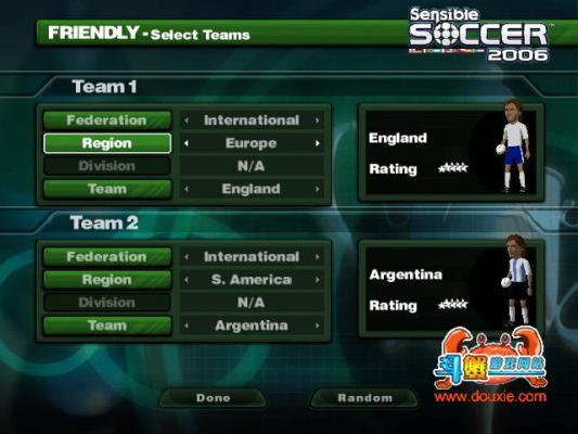 感官足球2006游戏截图(2)