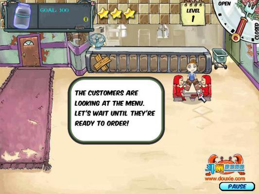 美女餐厅游戏截图(1)