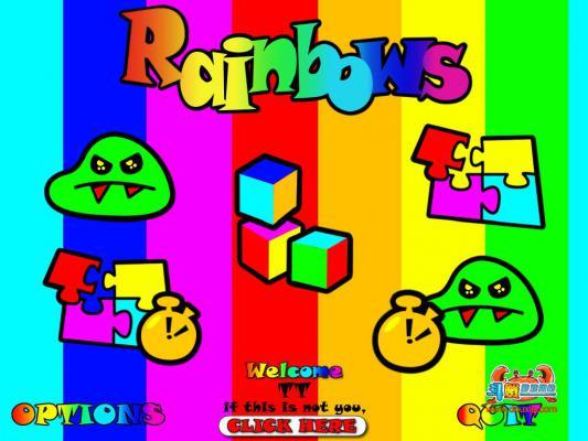 怪物彩虹游戏截图(2)