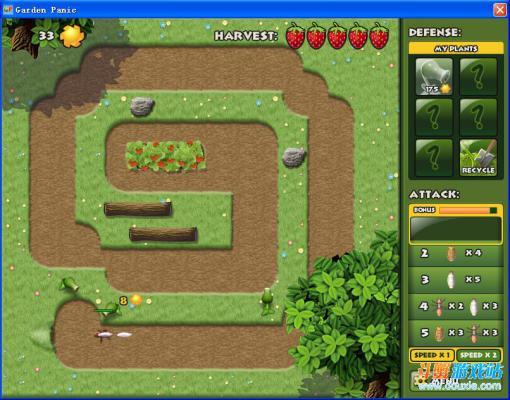 草莓园危机塔防游戏截图(1)