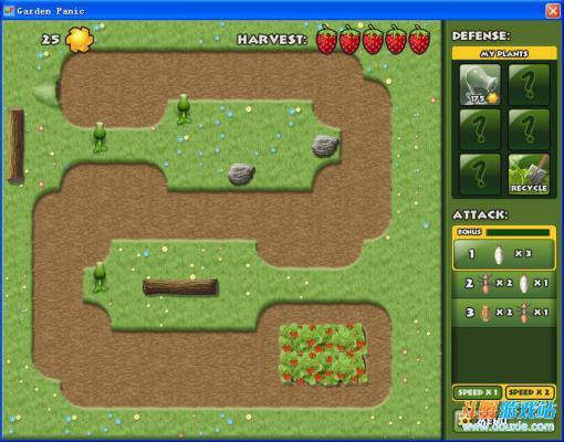草莓园危机塔防游戏截图(3)