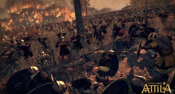 阿提拉全面战争中文版游戏截图(1)