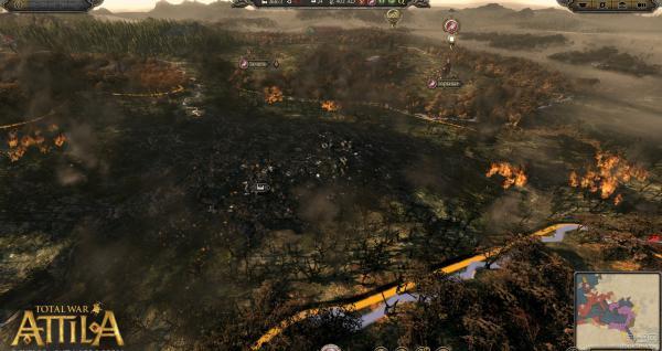 阿提拉全面战争中文版游戏截图(3)