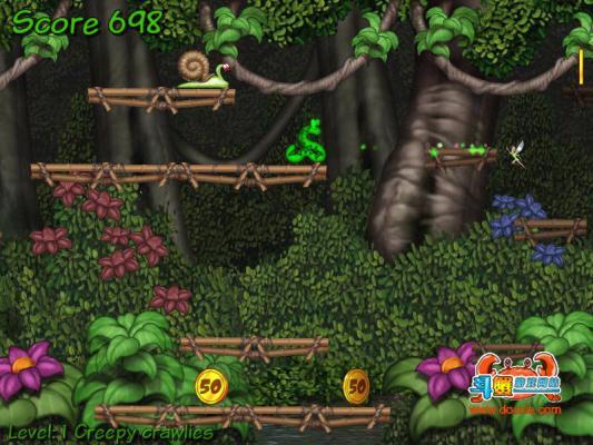 杰克蛇历险记游戏截图(1)