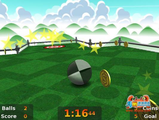 倾斜滚球游戏截图(1)