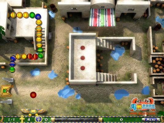 埃及祖玛2游戏截图(1)